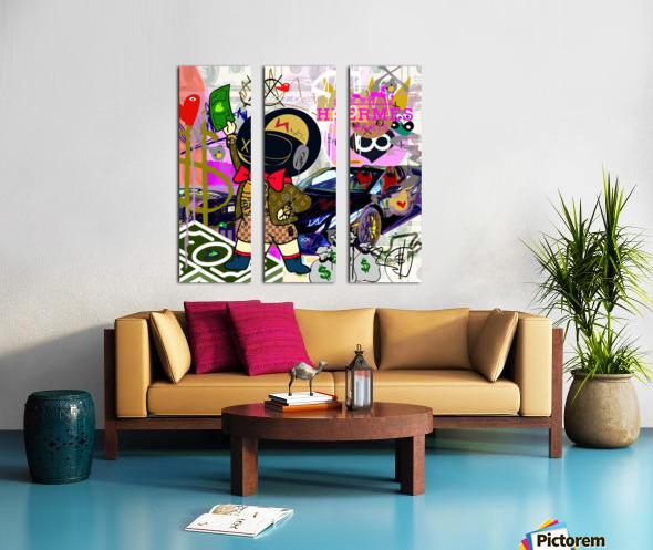 Millionaire Huracan EVO Split Canvas print