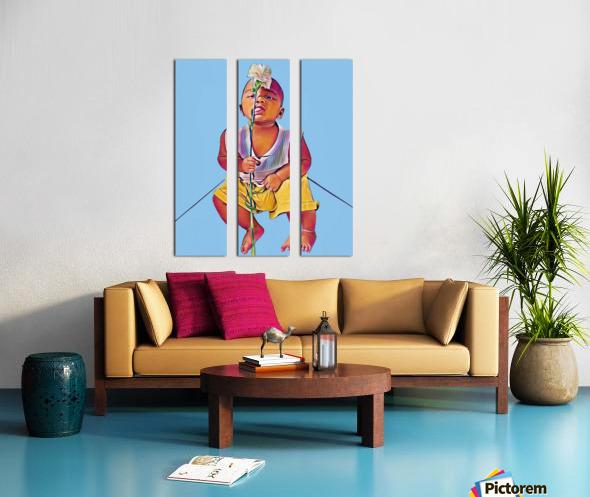 Mr Romantic Split Canvas print