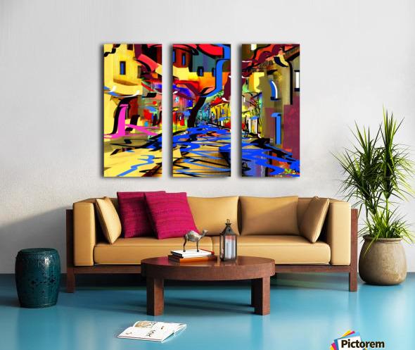 0210 Split Canvas print