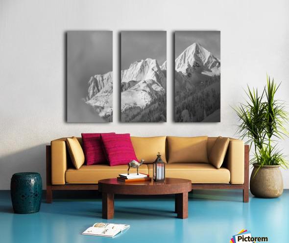 whitewater mountain 1 of 1 Split Canvas print