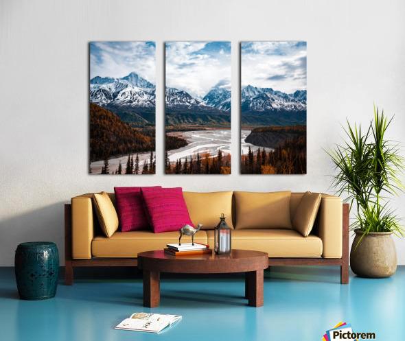 Autumn Landscape Split Canvas print