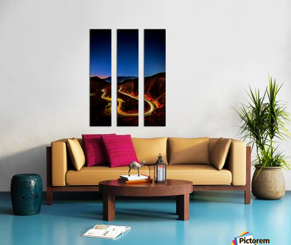 Highway to Hell Split Canvas print