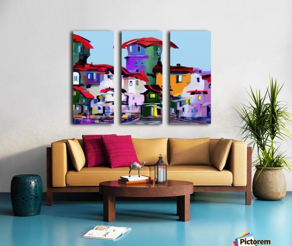 0228 Split Canvas print