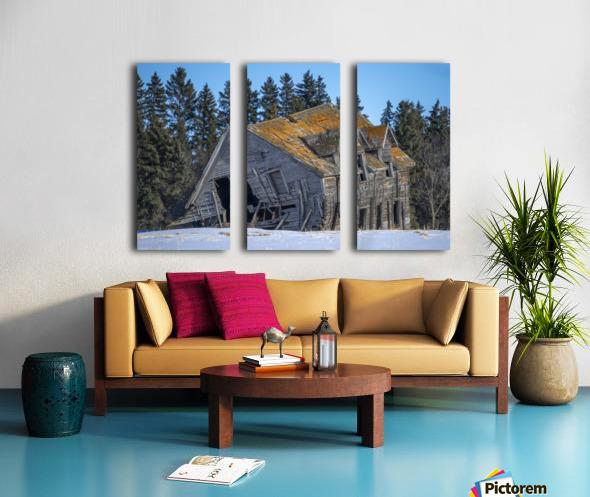 Old House Split Canvas print