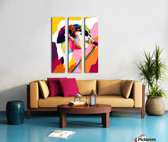 Liam Gallagher Split Canvas print