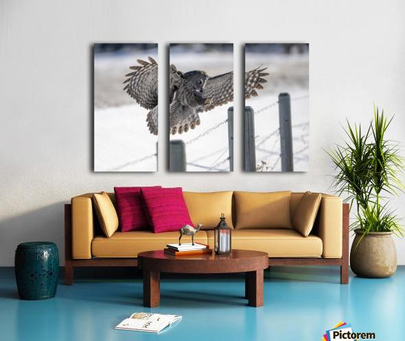 Keep Your Eye On The Target Split Canvas print