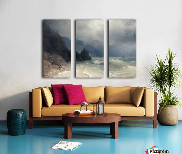 View of the sea Split Canvas print