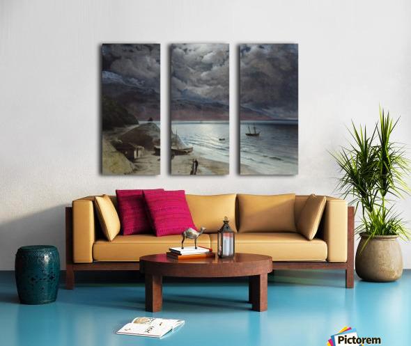 Watching the sea Split Canvas print