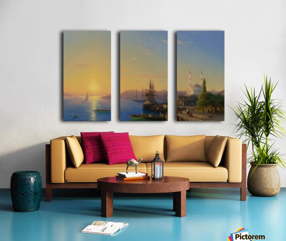 View of Constantinople Split Canvas print