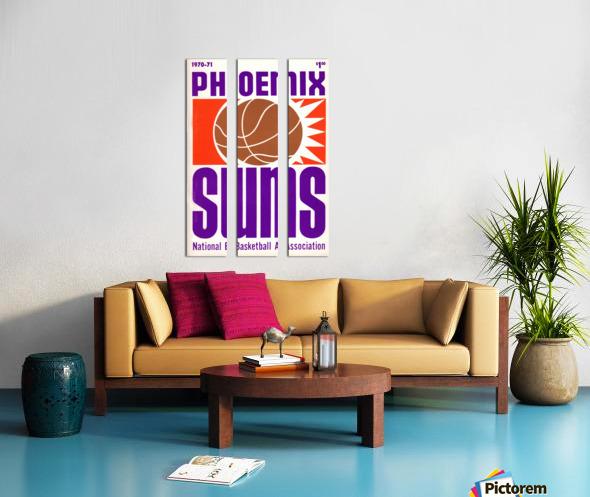 1970 Phoenix Suns Split Canvas print