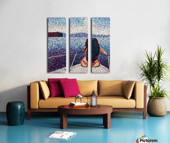 Bella Split Canvas print