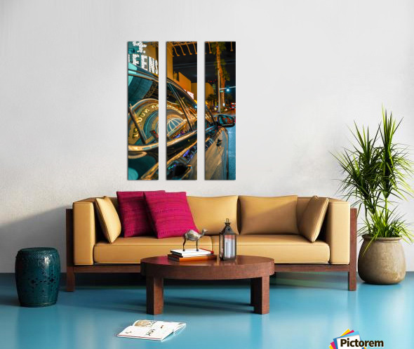 Golden Nugget  Split Canvas print