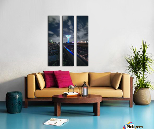 ISS Boynton Split Canvas print