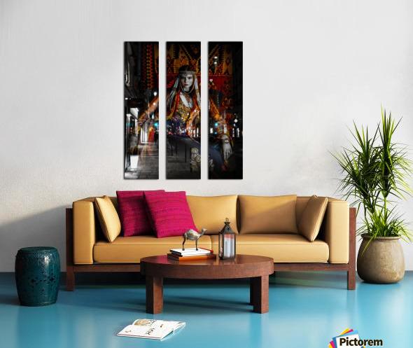 The Empress Split Canvas print