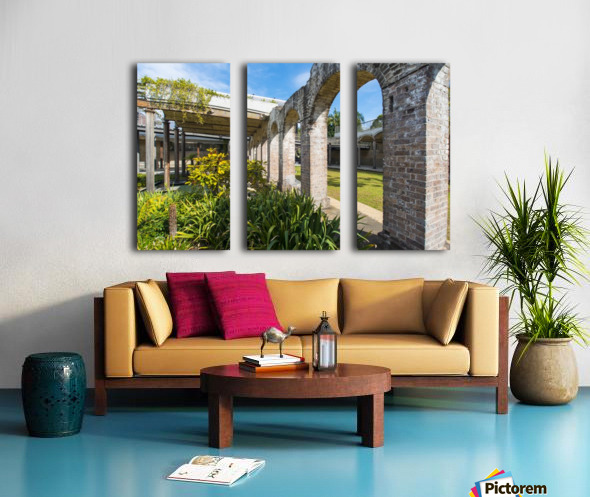 Paddington Reservoir gardens Split Canvas print