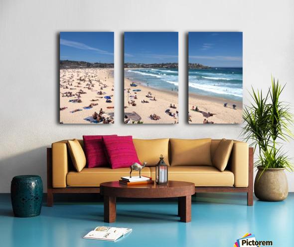 Bondi Beach Panoramic Split Canvas print