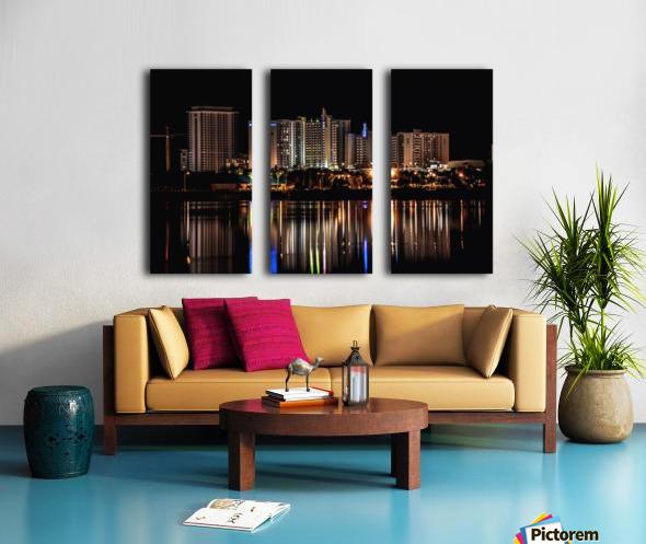 Costal Breezeways Split Canvas print