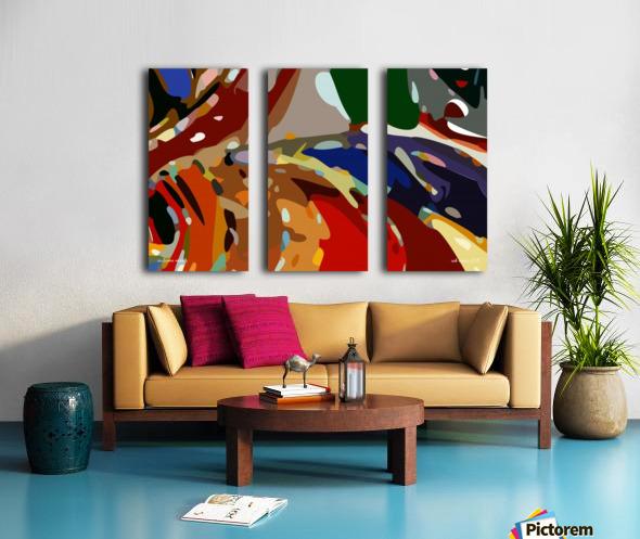 autumn moods Split Canvas print