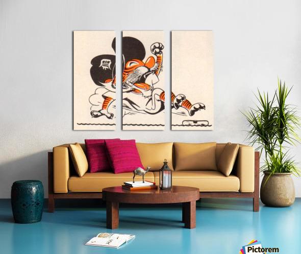 1971_Major League Baseball_Detroit Tigers_Best Sports Cartoons Split Canvas print