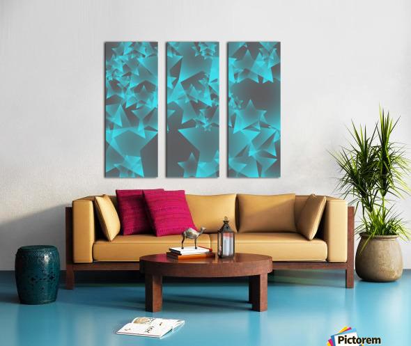 star Split Canvas print