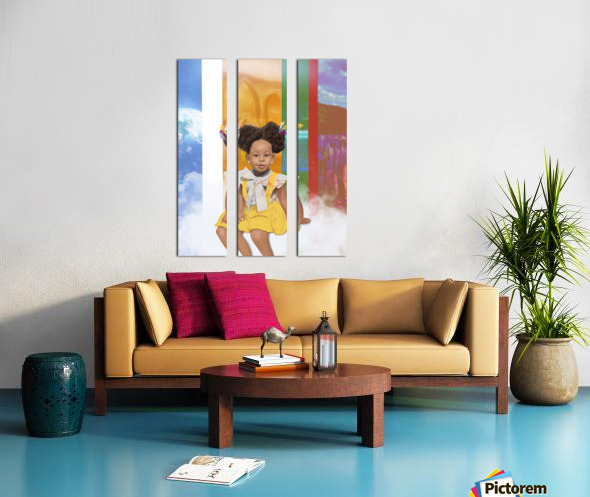 child Split Canvas print