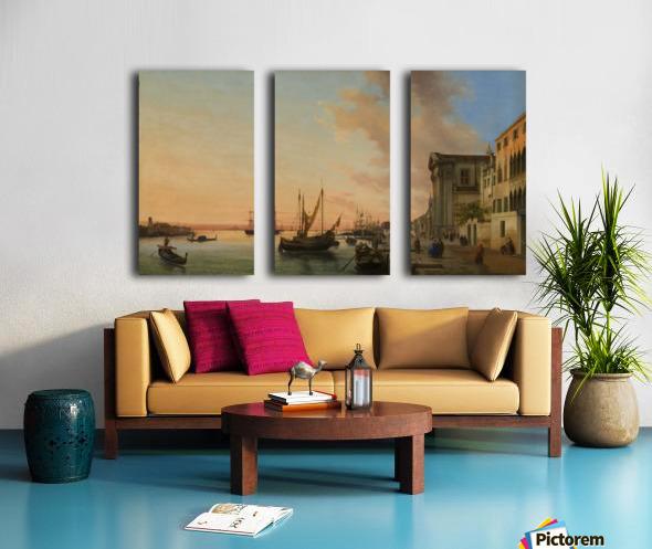 Venice Bay Split Canvas print
