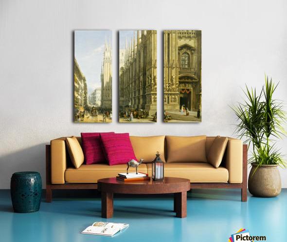 Il Duomo di Milano Split Canvas print