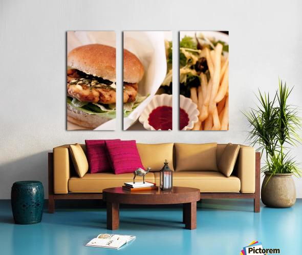 Its Vegan Split Canvas print