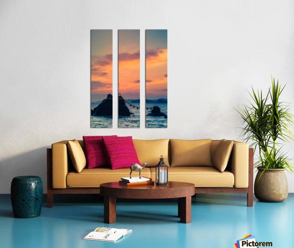Meotoiwa Split Canvas print