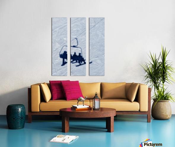 Lift chair Split Canvas print