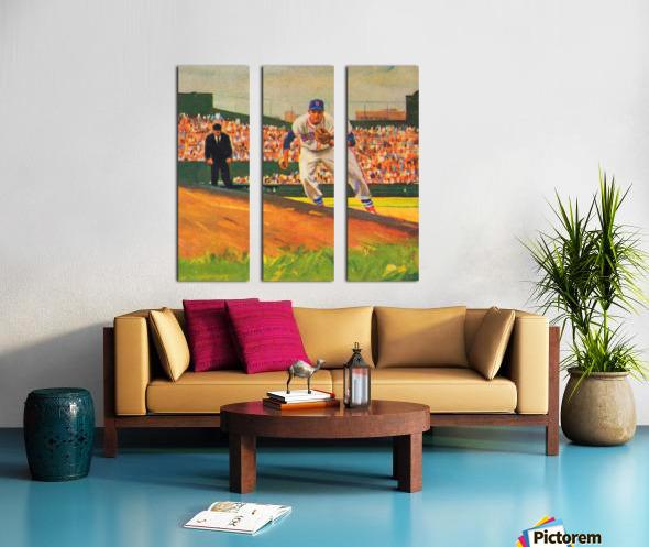 Fenway Park Boston Red Sox Art_Red Sox Posters Split Canvas print