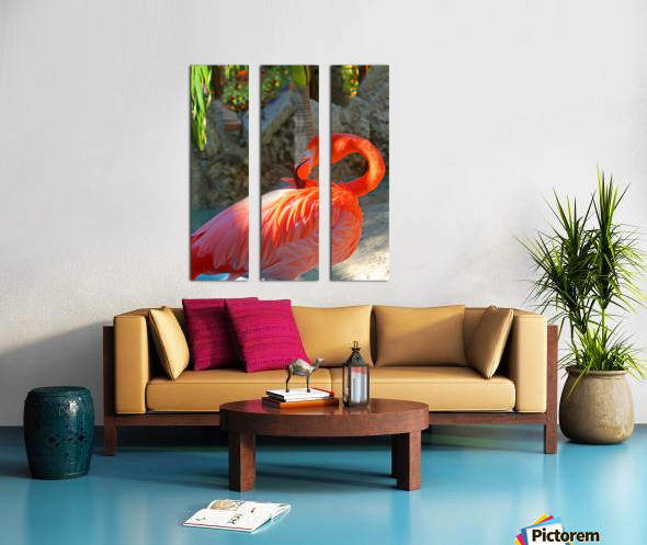 Enjoying the Sun Split Canvas print