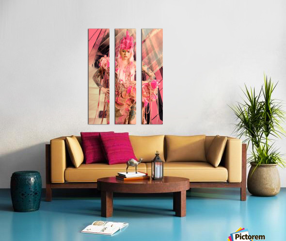 Avalon Split Canvas print