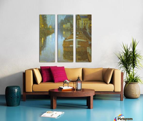 Ghent by Baertsoen Split Canvas print
