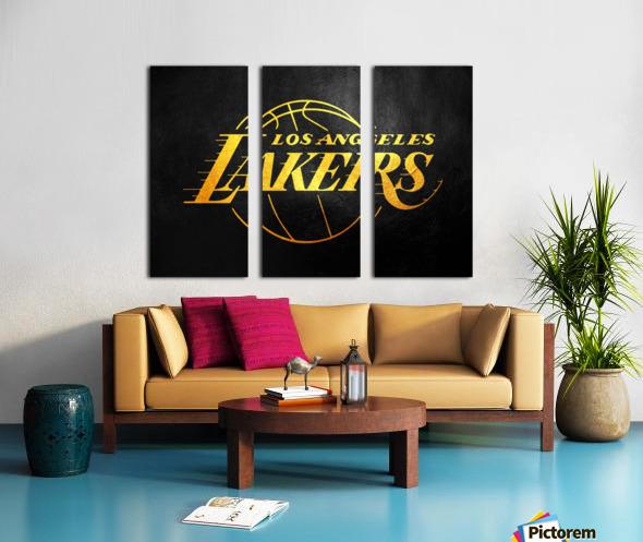 Lakers 2 Split Canvas print