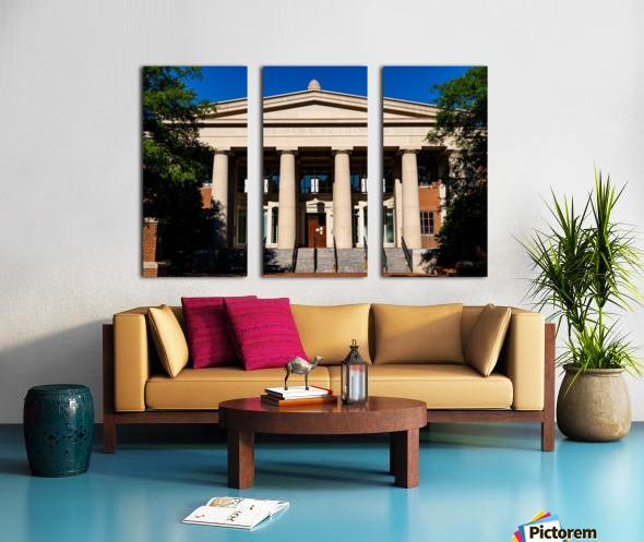 The News Building   Athens GA 07343 Split Canvas print