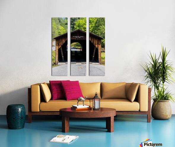 Watson Mill Bridge State Park   Comer GA 06571 Split Canvas print