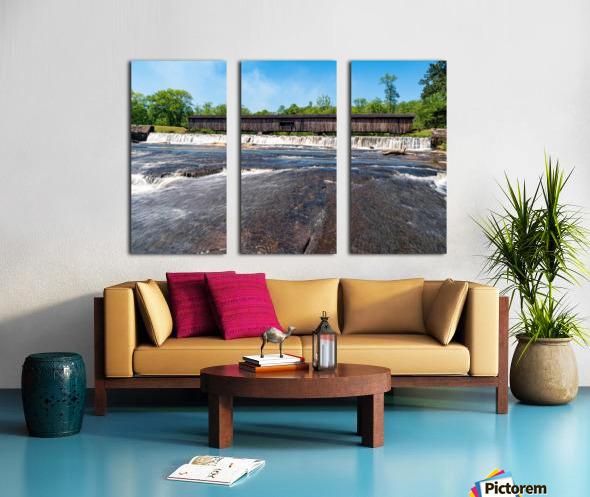 Watson Mill Bridge State Park   Comer GA 06860 Split Canvas print