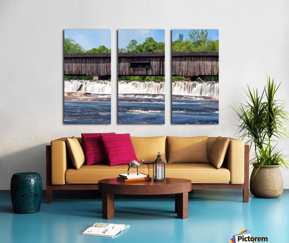Watson Mill Bridge State Park   Comer GA 06715 Split Canvas print