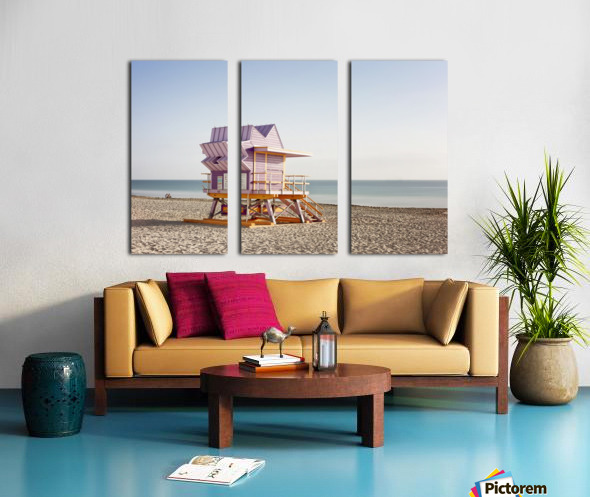 Miami Beach 054 Split Canvas print