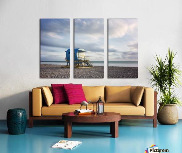 Miami Beach 042 Split Canvas print