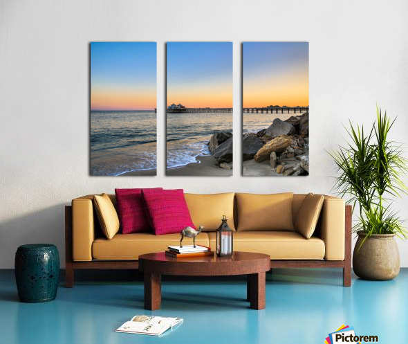 Stranded Split Canvas print