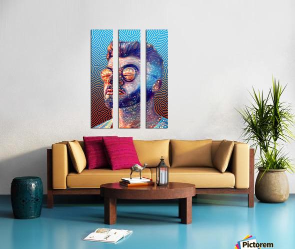 Dreamy Portrait II Split Canvas print