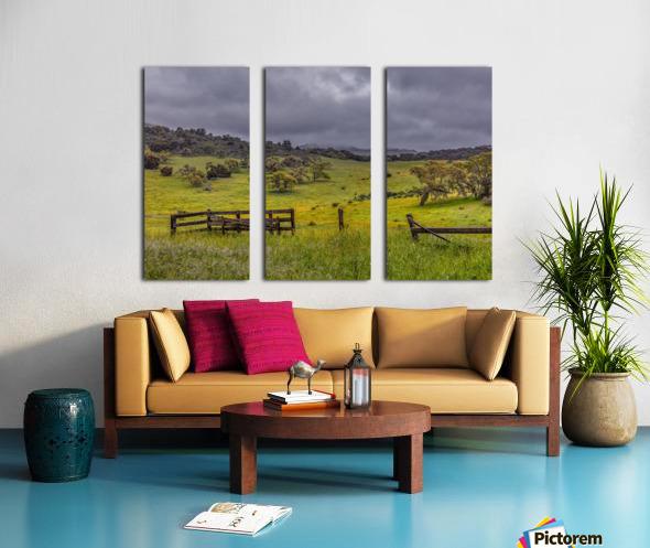 Neverland Split Canvas print