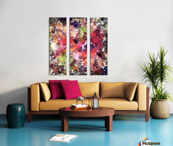 A process of elimination Split Canvas print