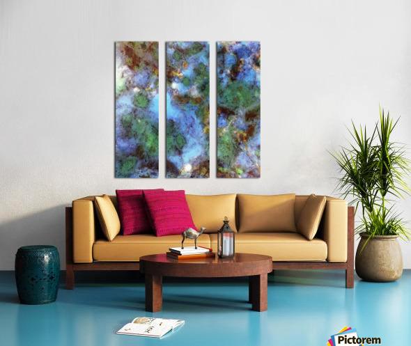 Audible water Split Canvas print
