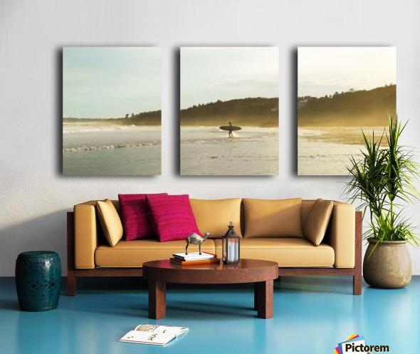 Shore Split Canvas print