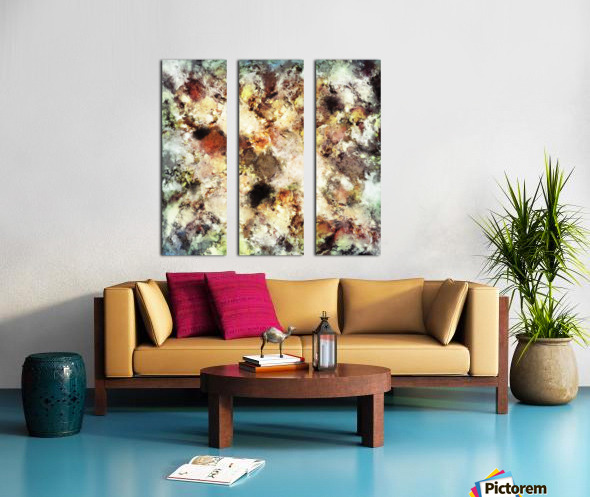 Cleave Split Canvas print