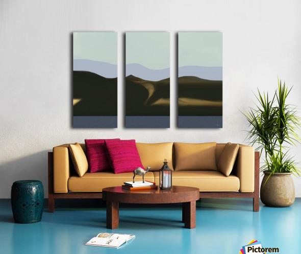 0480 Split Canvas print