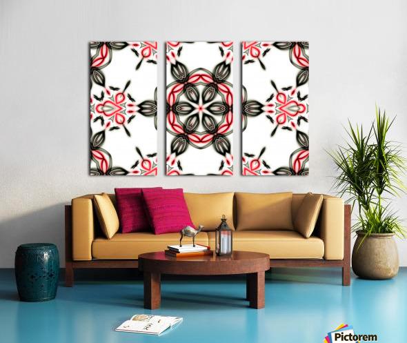 Abstract art II Split Canvas print